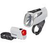Trelock LS 460 I-GO POWER+LS 720 - Kit éclairage vélo - blanc